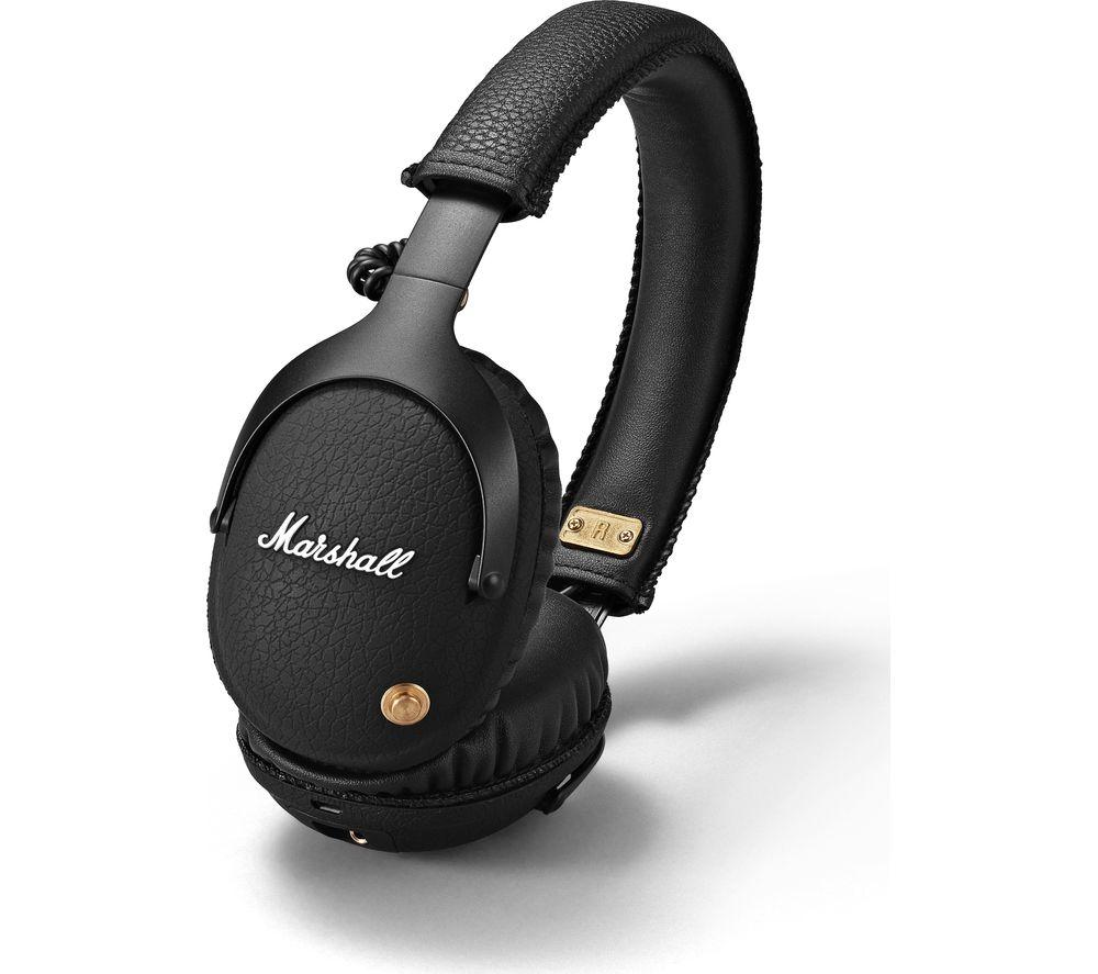 MARSHALL Monitor Wireless Bluetooth Headphones - Black