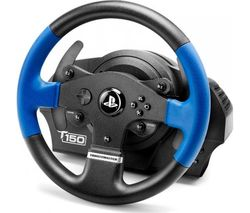 THRUSTMASTER TS150 RS PlayStation & PC Gaming Wheel - Black