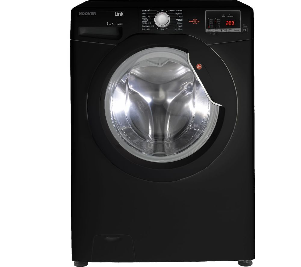 HOOVER Dynamic Link DHL  1482DBB NFC 8 kg 1400 Spin Washing Machine - Black