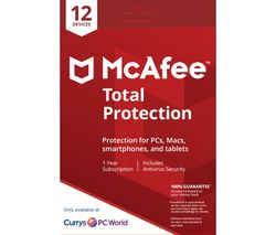 MCAFEE Total Protection 2018 - 1 user / 12 devices for 1 year