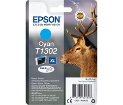 EPSON Stag T1302 Cyan Ink Cartridge