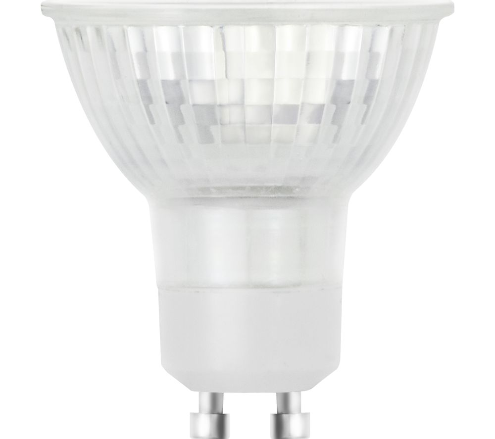 LOGIK LGU10517 GU10 Light Bulb - Warm White, Triple Pack