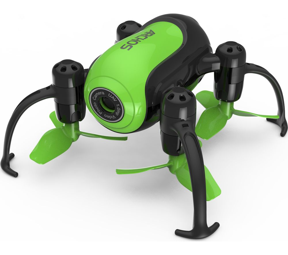 ARCHOS Pico Drone with Controller - Black & Green, Black