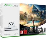 MICROSOFT Xbox One S with Assassin's Creed Origins & Tom Clancy's Rainbow Six Siege