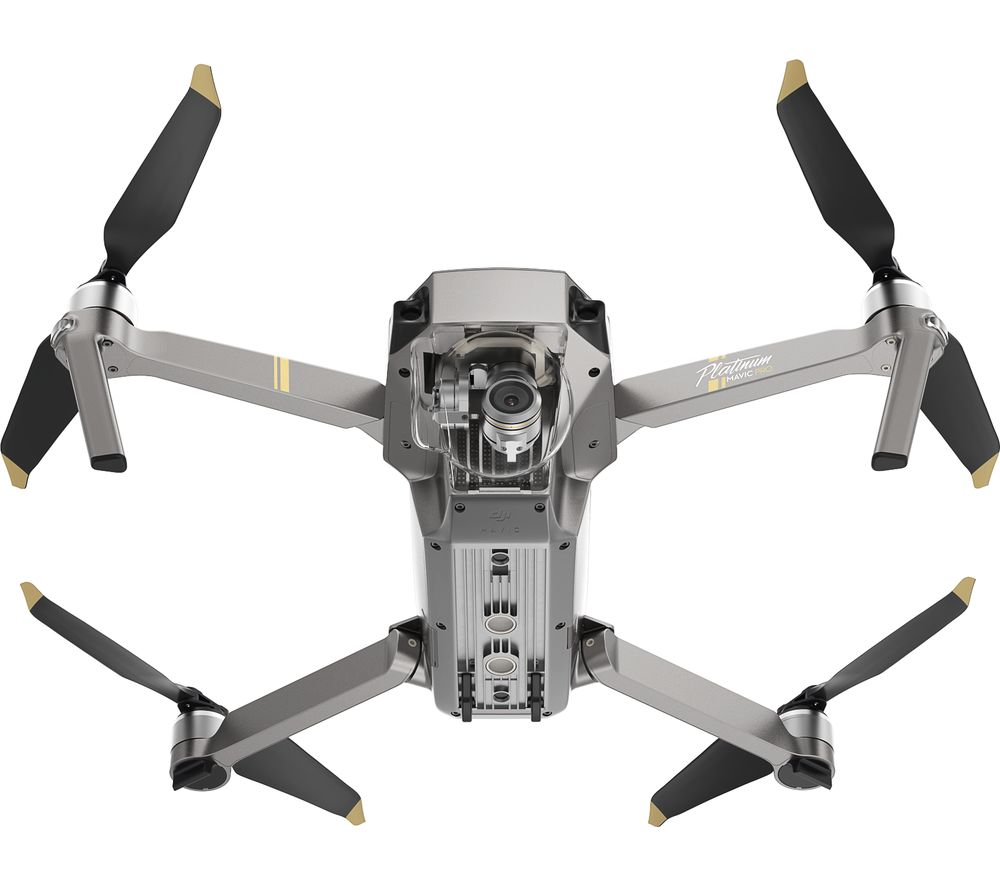 Buy Dji Mavic Pro Platinum Drone Fly More Combo Silver