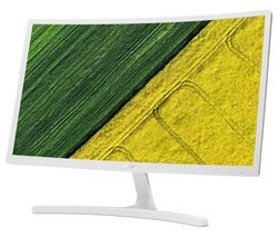 "ACER ED242QRwi Full HD 24"" Curved LCD Monitor - White"