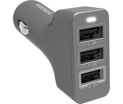 KANEX S10164925 Universal Triple USB Car Charger