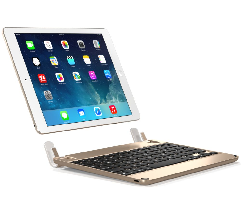 buy brydge wireless 9 7 ipad keyboard gold free delivery currys. Black Bedroom Furniture Sets. Home Design Ideas
