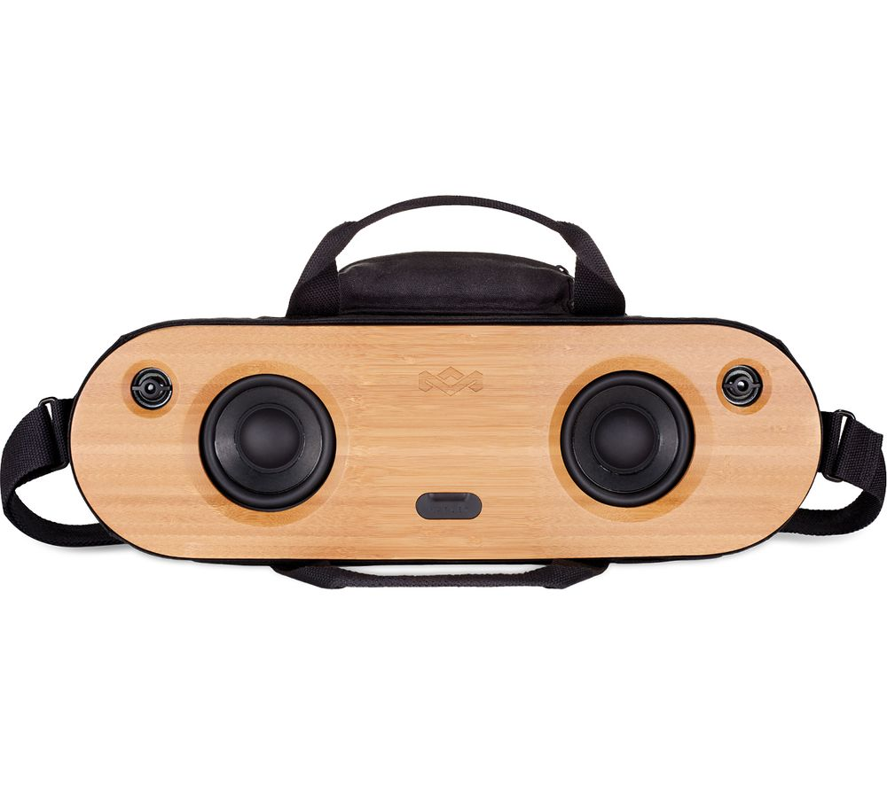Image of House Of Marley Bag of Riddim 2 Portable Bluetooth Wireless Speaker - Black, Black