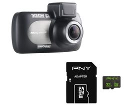 NEXTBASE 312GW Deluxe Dash Cam & 32 GB High Performance Class 10 microSD Memory Card Bundle