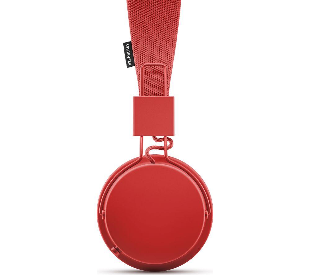 URBANEARS Plattan 2 Bluetooth Headphones - Tomato
