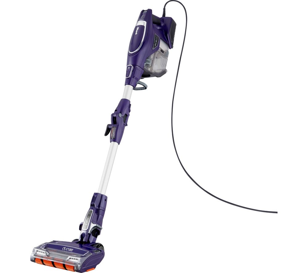 SHARK DuoClean with Flexology HV390UK Bagless Vacuum Cleaner - Purple
