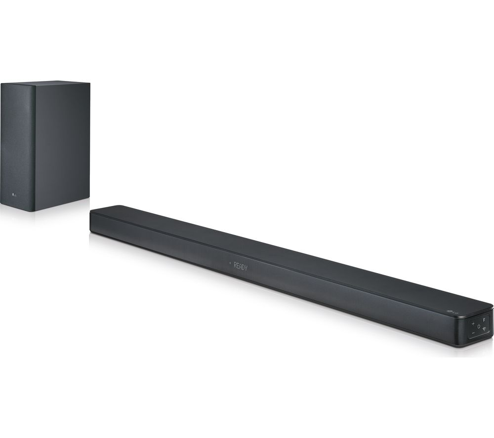 LG SK6 2.1 Wireless Cinematic Soundbar, Gold