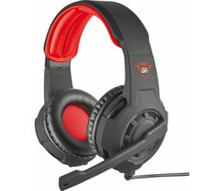 TRUST GXT 310 Radius Gaming Headset - Black & Red