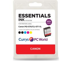 Canon 570XL & 571XL Cyan, Magenta, Yellow & Black x 2 Ink Cartridges - Multipack