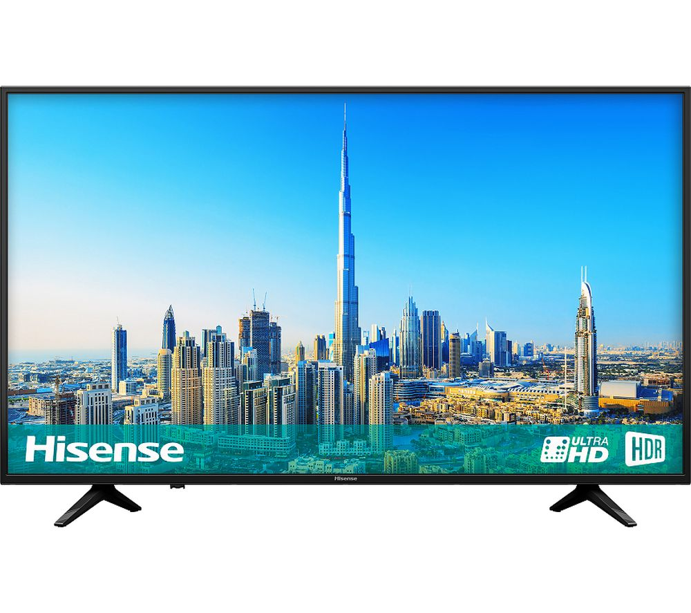 Hisense H43A6200UK 43 inch Smart 4K Ultra HD HDR LED TV