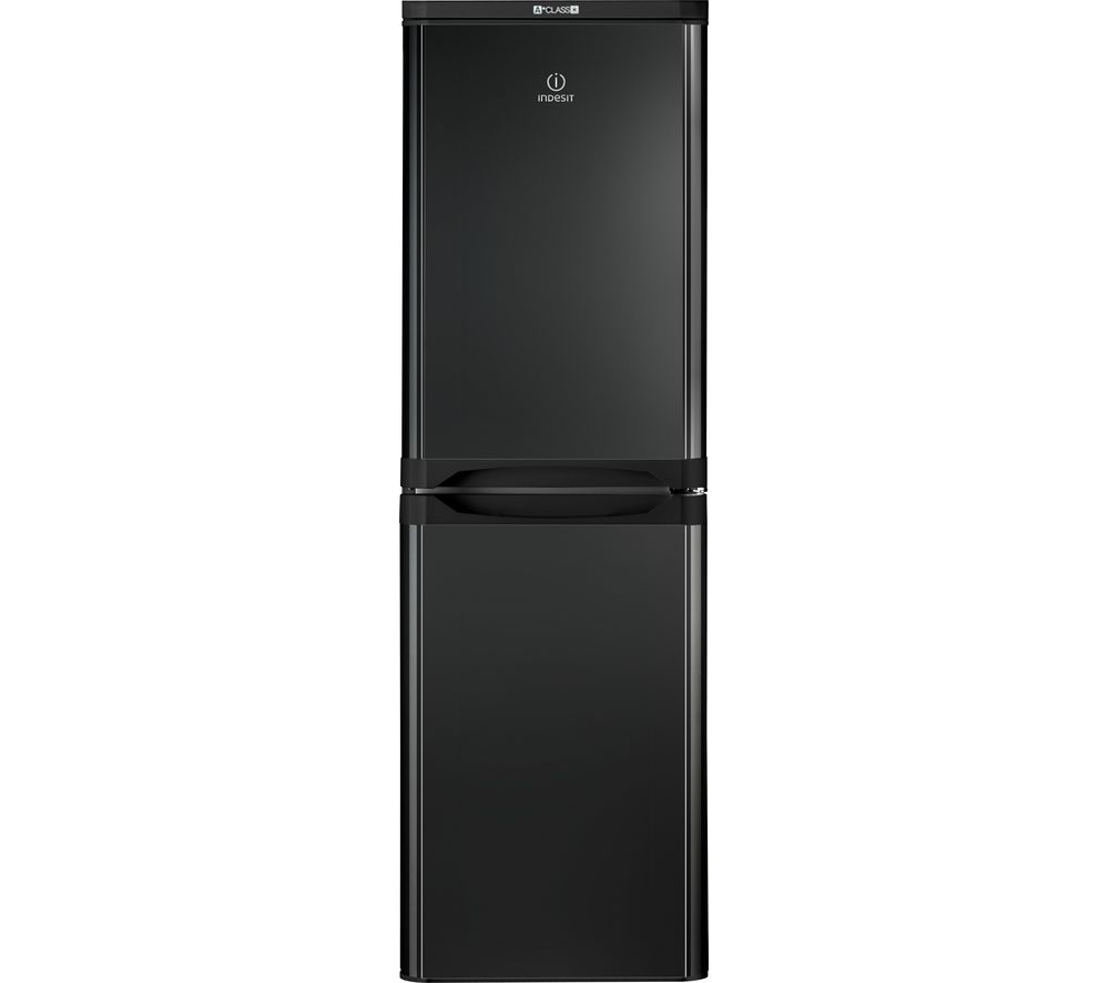 INDESIT IBD5517BUK 50/50 Fridge Freezer - Black