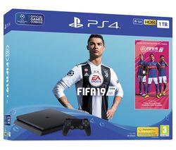 SONY PlayStation 4 with FIFA 19 - 1 TB
