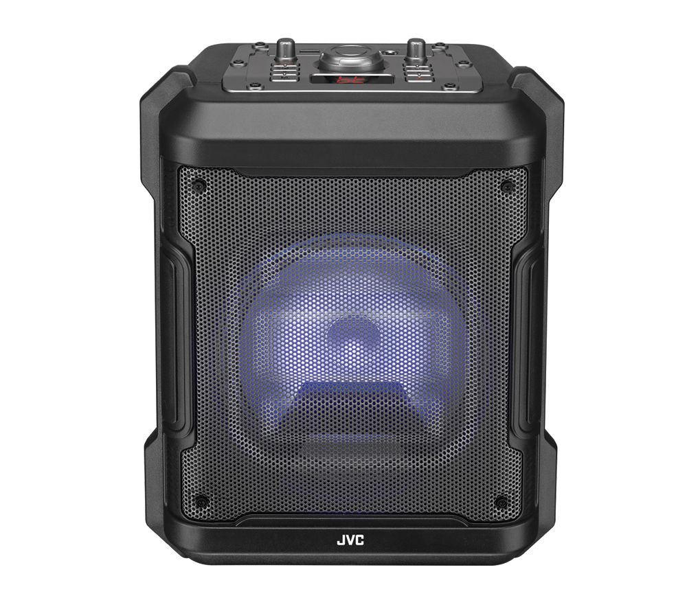 JVC MX-D319PB Portable Bluetooth Speaker - Black