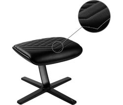 NBL-FR-PU-BW Footrest - Black & White