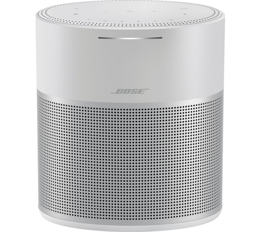 BOSE Home Speaker 300 with Amazon Alexa & Google Assistant - Silver, Silver