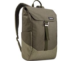 """THULE Lithos 16L 14"""" Laptop Backpack - Green"""