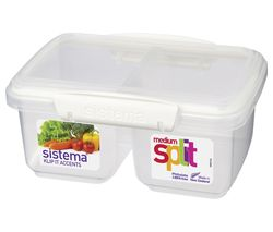 Split Accents 1-litre Food Storage Container
