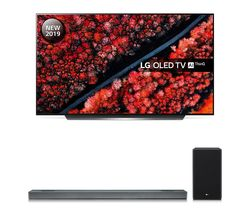 LG SL9YG 4.1.2 Wireless Sound Bar with Dolby Atmos & OLED55C9MLB 55