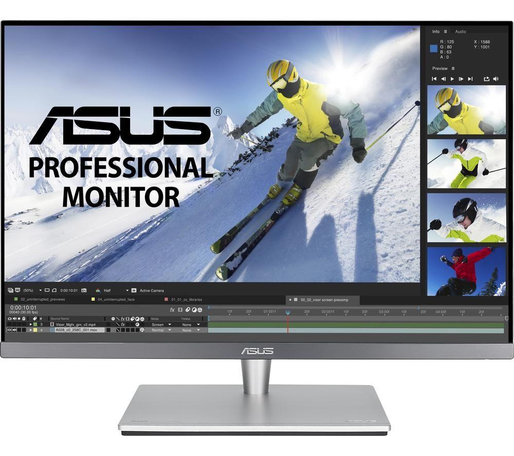 "ASUS ProArt PA24AC Full HD 24.1"" IPS Monitor - Grey"