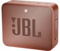 JBL Go 2 Portable Speaker - Sunkissed Cinnamon