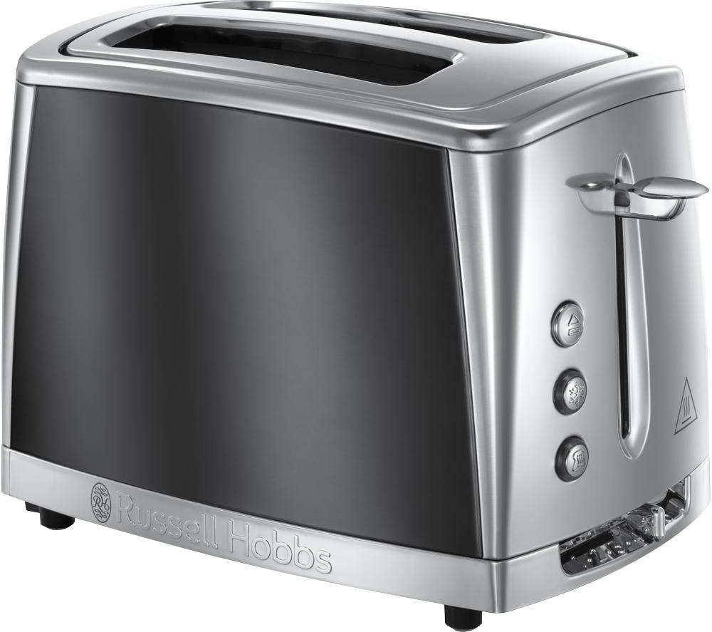 Luna 23221 2-Slice Toaster - Moonlight Grey, Grey