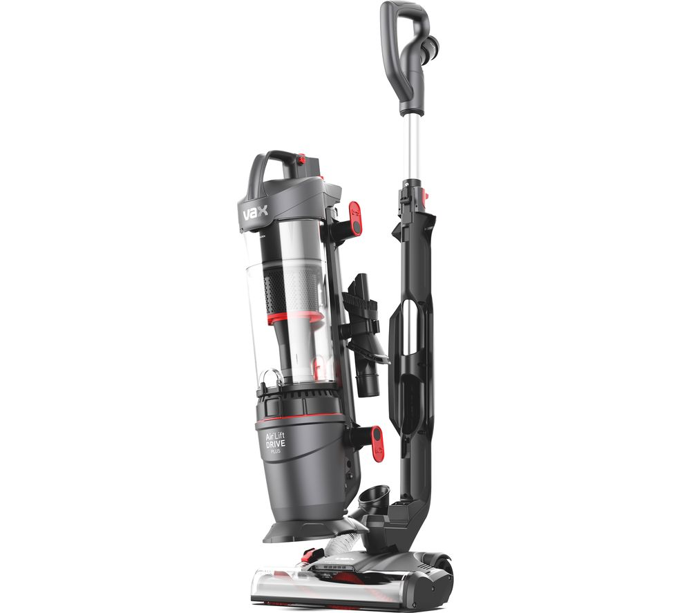 VAX Air Lift Drive Plus Upright Bagless Vacuum Cleaner - Black, Black
