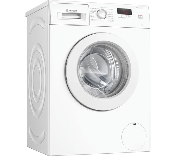 Image of BOSCH Serie 2 WAJ28008GB 7 kg 1400 Spin Washing Machine - White