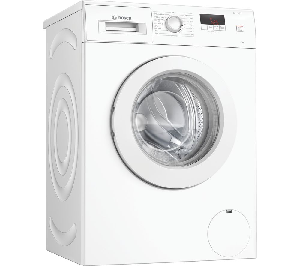 BOSCH Serie 2 WAJ28008GB 7 kg 1400 Spin Washing Machine - White