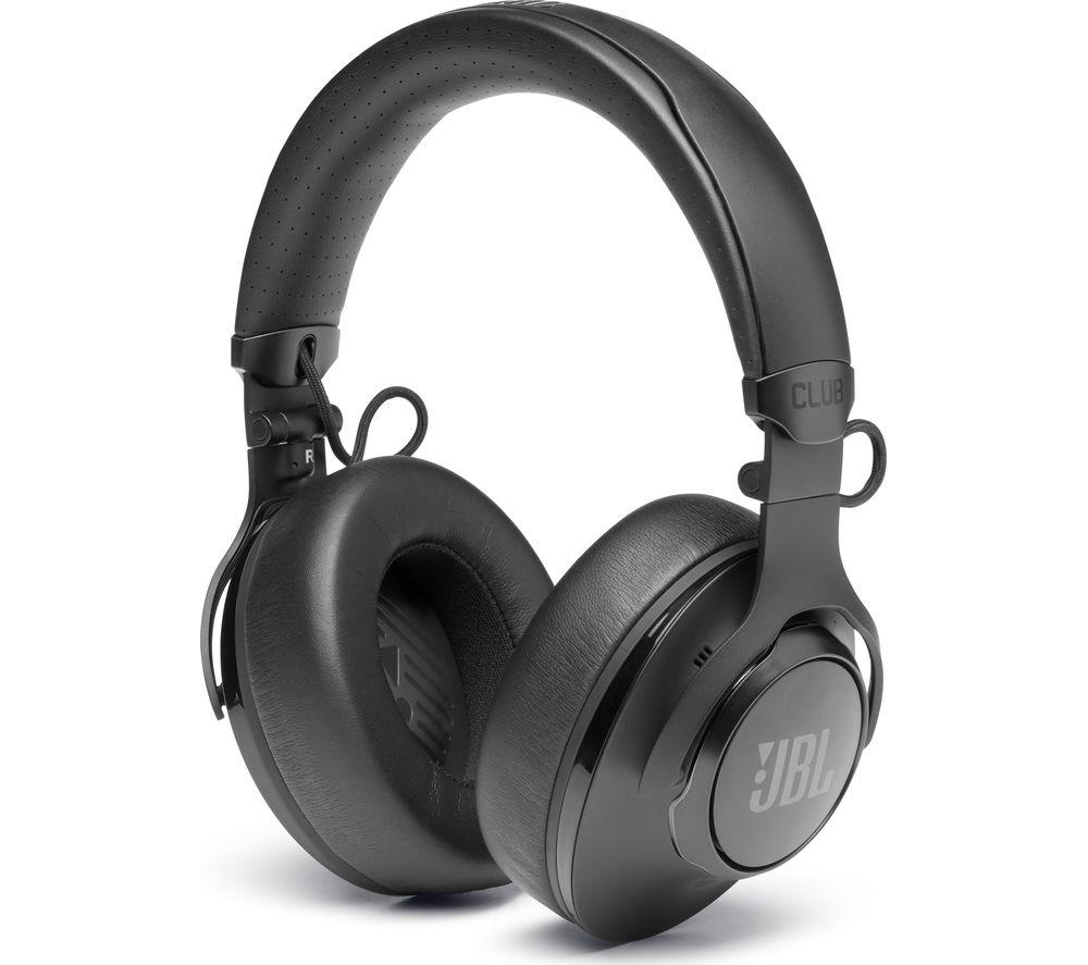 JBL Club 950NC Wireless Bluetooth Noise-Cancelling Headphones - Black, Black