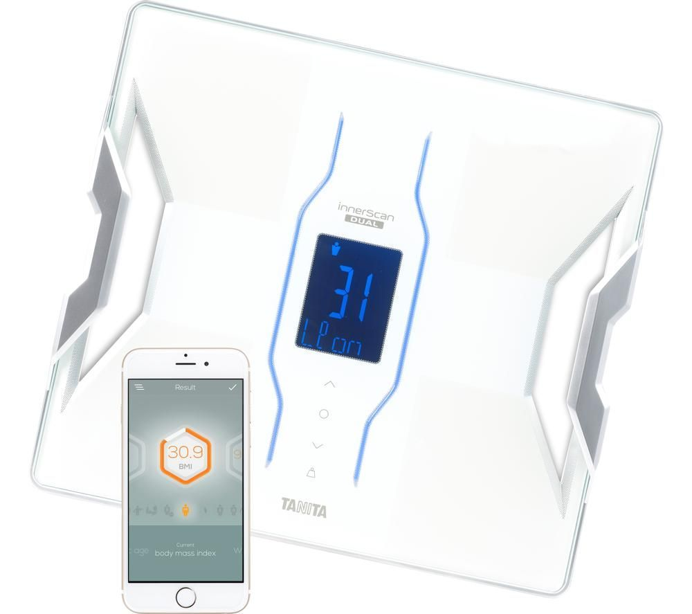 Image of TANITA InnerScan Dual RD-953 Smart Scale - White, White