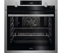 SteamBake BPS555020M Electric Steam Oven - Stainless Steel & Black