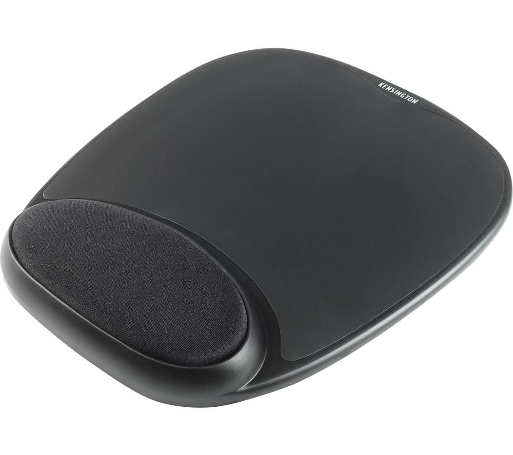 Image of Kensington 62386 Mouse pad Ergonomic Black (W x H x D) 210 x 25 x 250 mm