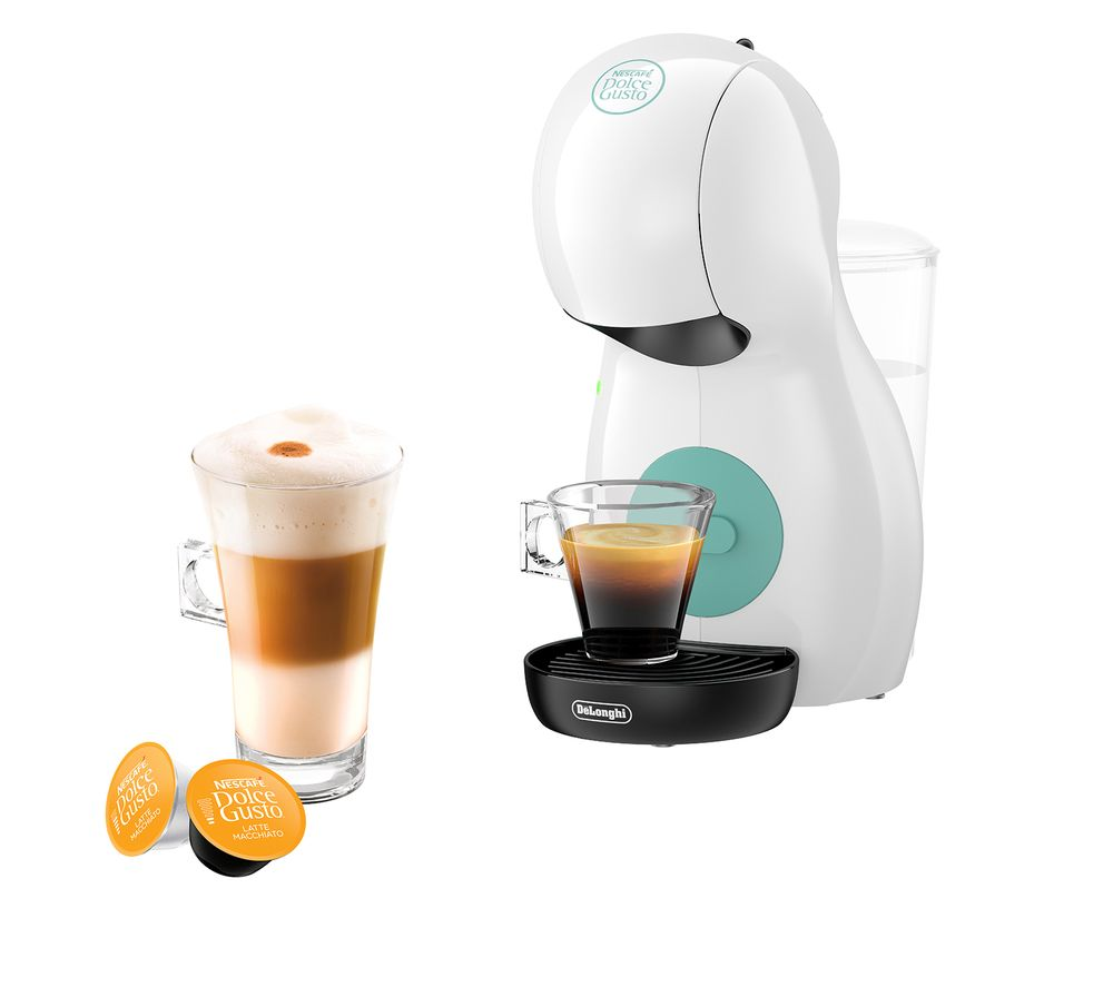 DELONGHI by DeLonghi Piccolo XS EDG210W Coffee Machine - White, White