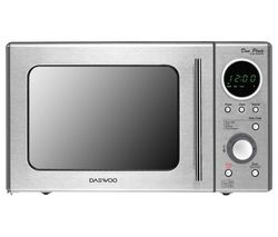 DAEWOO KOR3000DSL Solo Microwave - Stainless Steel Best Price, Cheapest Prices