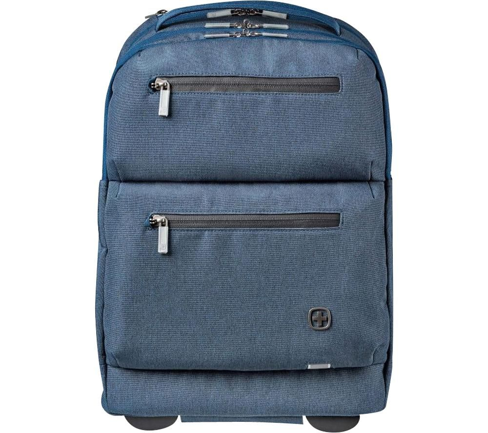 """Image of WENGER CityPatrol 16"""" Laptop Backpack - Blue, Blue"""