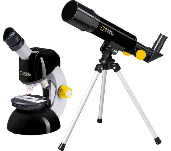 Image of NAT. GEOGRAPHIC Telescope & Microscope Set