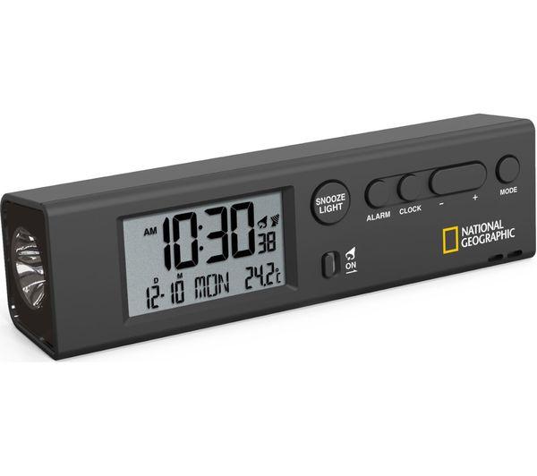 Image of NAT. GEOGRAPHIC NG-9060300 World Clock & Torch