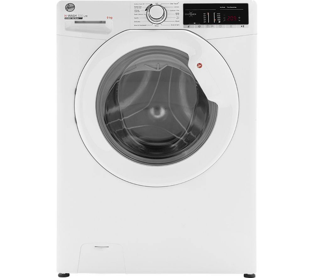 HOOVER H-Wash 300 H3W49TE NFC 9 kg 1400 Spin Washing Machine - White