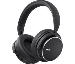 Image of AKG Y600NC Wireless Bluetooth Noise-Cancelling Headphones - Black