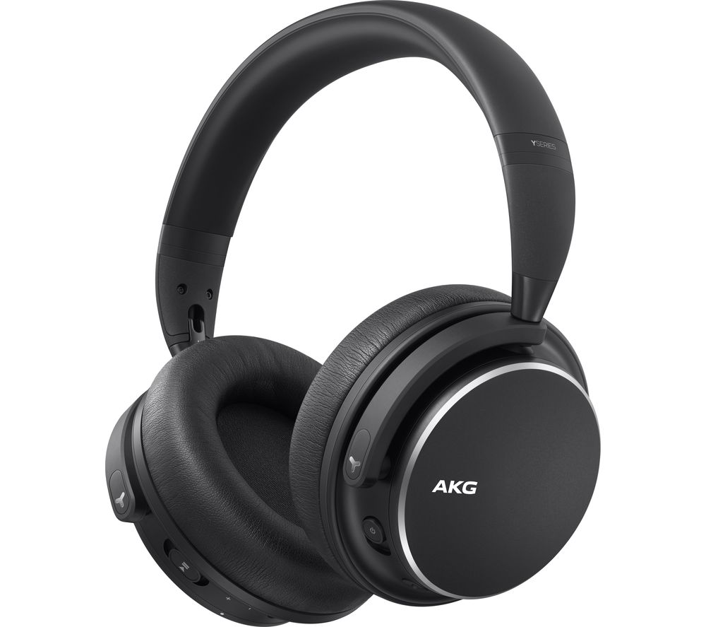 AKG Y600NC Wireless Bluetooth Noise-Cancelling Headphones - Black