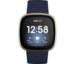 Versa 3 - Midnight & Soft Gold