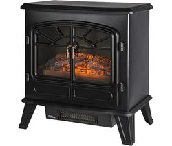RHEFSTV2003B Electric Stove Fire - Black