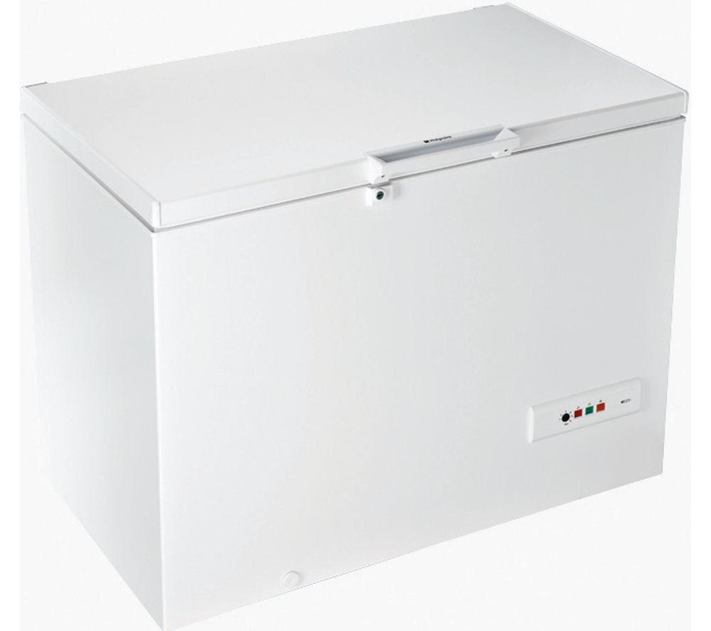 HOTPOINT CS1A 300 H FA 1 Chest Freezer - White, White