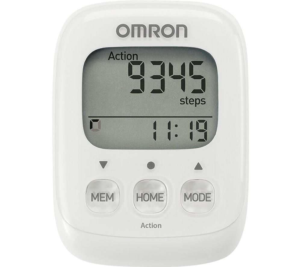 OMRON Walking Style IV Step Counter - White